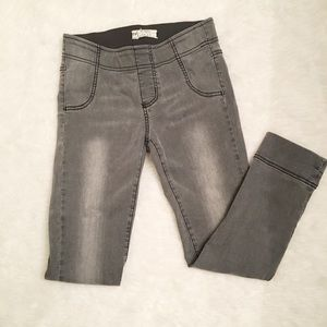 Free People Grey Jeggings Size 27